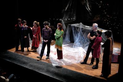 Teatro Filodrammatici. Paco Bezerra.Milán, enero 2007